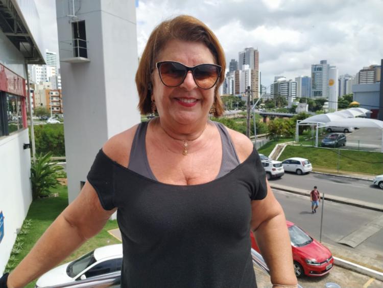 Eliana Maia faz musculação de segunda à sexta-feira