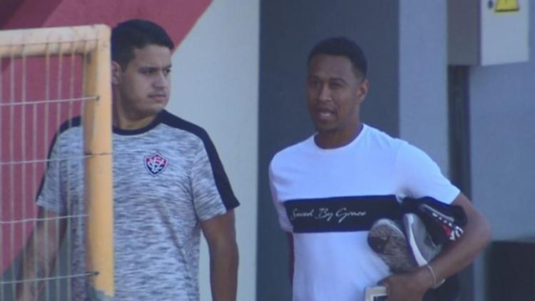 O atleta está sem jogar desde o final de 2018, quando encerrou o contrato com o Vasco - Foto: Reprodução | Rede Bahia