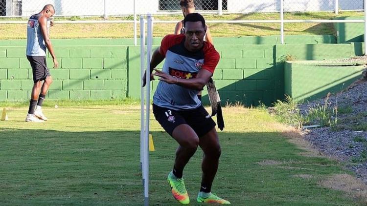 Fabrício treina na Toca do Leão desde o começo de fevereiro - Foto: Mauricia da Matta l EC Vitória