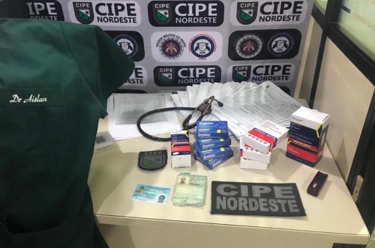 Falso médico foi descoberto após denúncia anônima - Foto: Divulgação   SSP