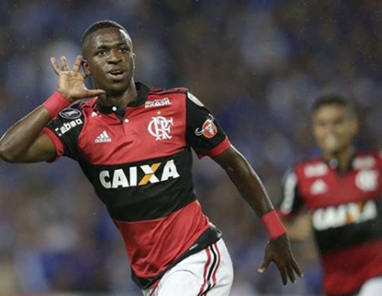 Em 2017 o Flamengo chegou a um acordo com o Real Madrid e vendeu a joia por cerca de R$ 164 milhões - Foto: Reprodução   Instagram