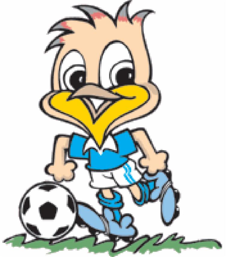 Em 1989, o sabiá Tico foi o símbolo do torneio, que na ocasião foi disputado no Brasil - Foto: Divulgação