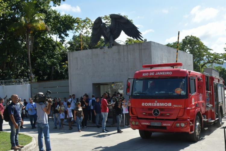 Uma vez comprovado o cumprimento de todas as ações, o Flamengo poderá pedir à Prefeitura o alvará definitivo para a liberação da utilização integral do CT - Foto: Thiago Ribeiro   Agif   Folhapress