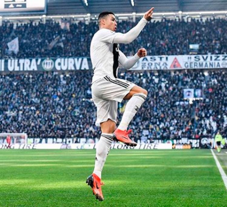 Multa aplicada a Cristiano é de 20 mil euros (cerca de R$ 86 mil) - Foto: Reprodução | Instagram