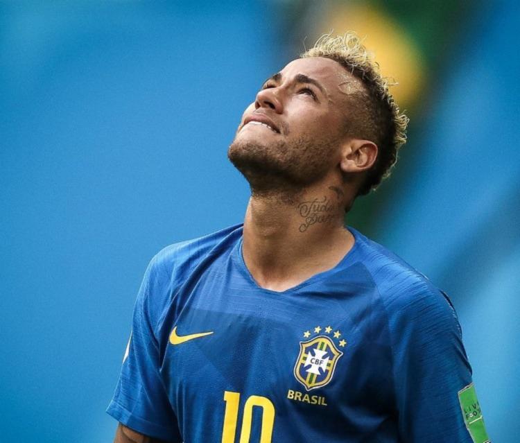 O jogador poderá receber a punição em decorrência da atitude após a partida do jogo da Liga dos Campeões da Europa. - Foto: Reprodução | Instagram