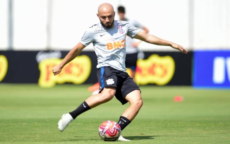 O jogador de 26 anos foi anunciado pelo clube no início deste mês - Foto: Divulgação   Corinthians