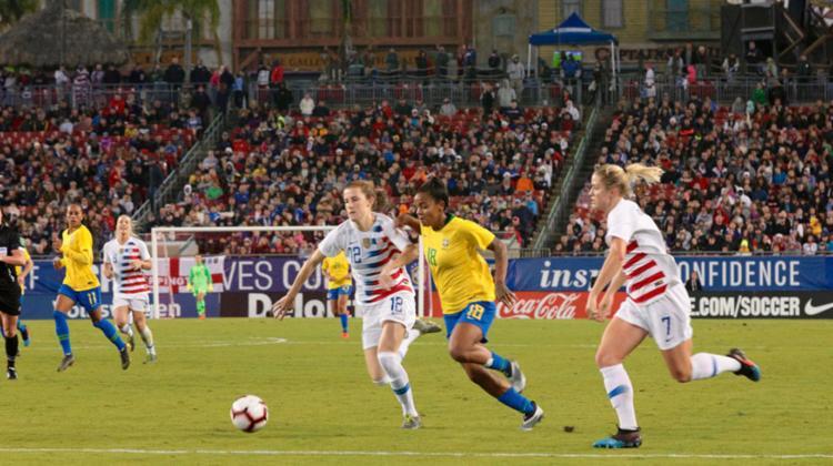 Essa é a pior sequência da história da seleção feminina em jogos oficiais - Foto: Foto: Laura Zago | CBF