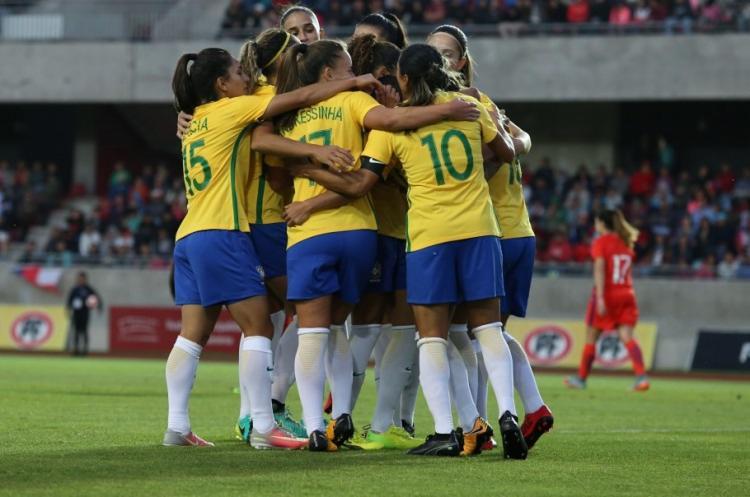No Mundial, o Brasil está no Grupo C. A estreia será diante da Jamaica, no dia 9 de junho, em Grenoble - Foto: Fernanda Coimbra | CBF