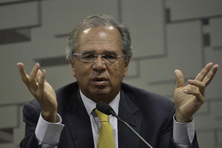 O ministro da Economia ainda disse que não brigará para ficar no cargo - Foto: Fabio Rodrigues Pozzebom l Agência Brasil