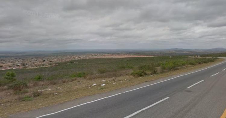 Idoso foi baleado em um trecho deserto do loteamento do bairro São Pedro - Foto: Reprodução | Google Street View