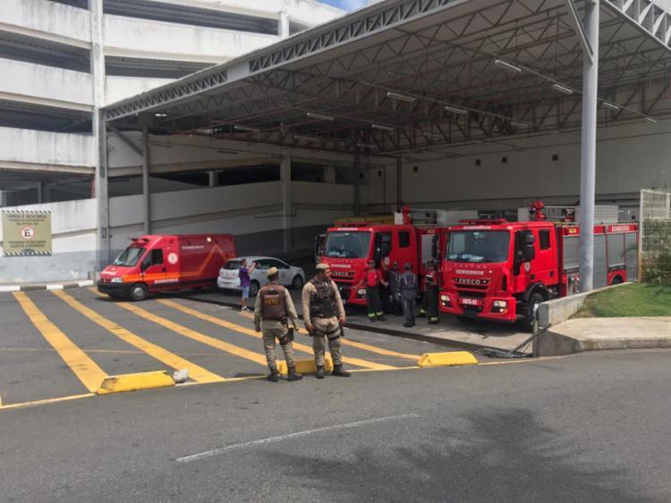 Ainda não se sabe a causa do incêndio - Foto: CBMBA   Divulgação