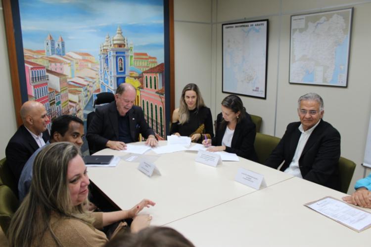 Os protocolos de intenções foram assinados nesta terça (26), na SDE - Foto: Divulgação