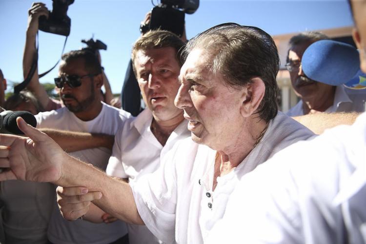 Médium está preso desde o dia 16 de dezembro do ano passado - Foto: Marcelo Camargo l Agência Brasil