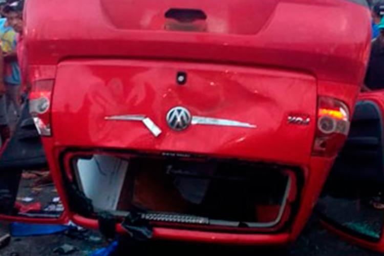 Condutor do veículo foi encaminhado para a delegacia local - Foto: Reprodução | Blog do Geraldo José