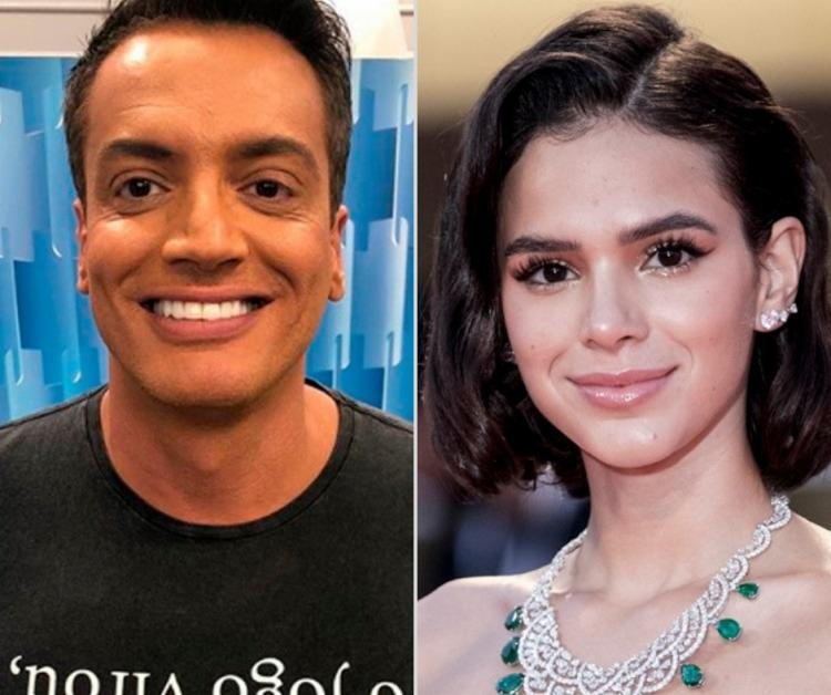 Em entrevista, o apresentador aproveitou para pedir desculpas à atriz após uma entrevista desrespeitosa. - Foto: Divulgação