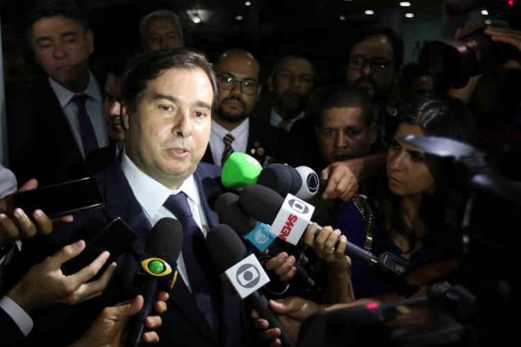 Presidente da Câmara disse que o País precisa de um presidente funcionando - Foto: Fabio Rodrigues Pozzebom l Agência Brasil