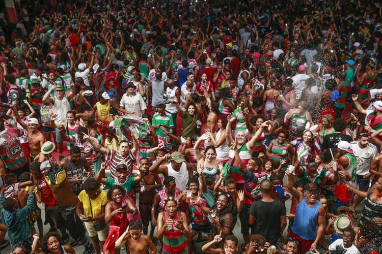 A escola contou a história do Brasil pela ótica dos heróis populares - Foto: Tânia Rêgo l Agência Brasil