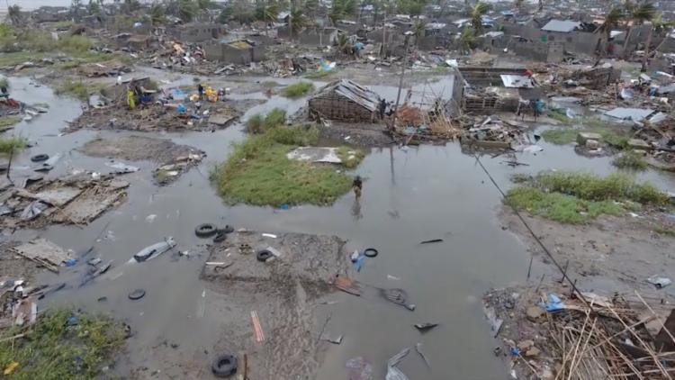 Ciclone Idai atingiu Moçambique, Zimbábue e Malauí - Foto: Adrien Barbier | AFP