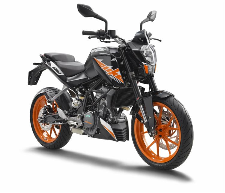 A moto de entrada da KTM custa R$ 17.900 - Foto: Divulgação
