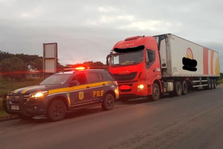 Motorista foi encaminhado à Delegacia de Polícia Civil - Foto: Divulgação | PRF