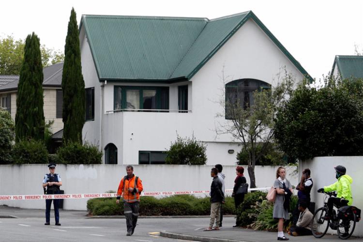 Na mesquita Linwood Masjid, que fica em um subúrbio de Christchurch - Foto: Tessa Burrows   AFP