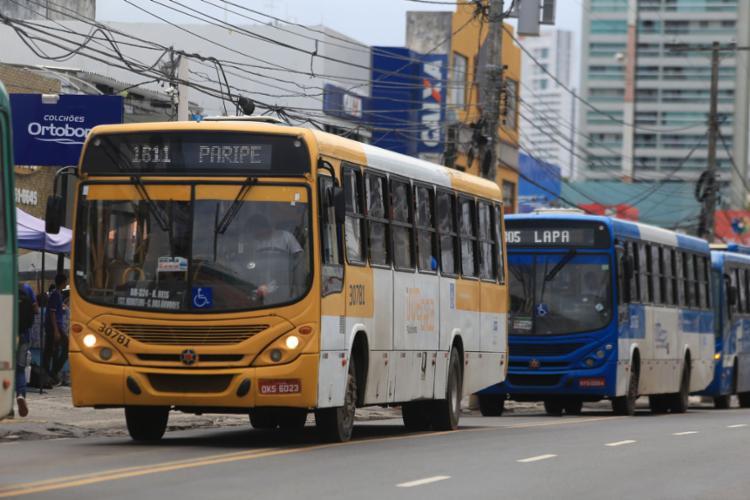 Passagem sobe R$ 0,30 a partir da zero hora de terça-feira, 2 - Foto: Joá Souza l Ag. A TARDE