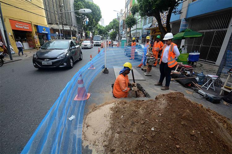 Ação antecede o início das obras requalificação da região e da Praça Castro Alves - Foto: Divulgação