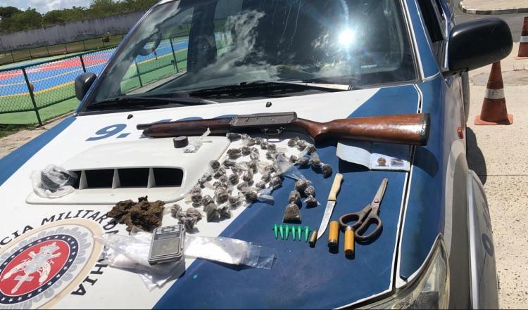 Material apreendido durante ação policial - Foto: Divulgação | SSP-BA