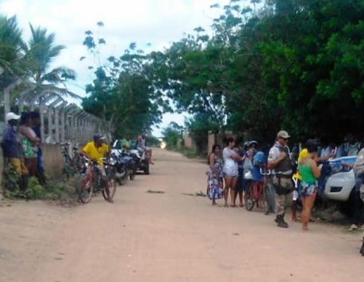 O crime aconteceu na manhã desta segunda-feira, 18, no bairro Mantiba - Foto: Reprodução | Acorda Cidade