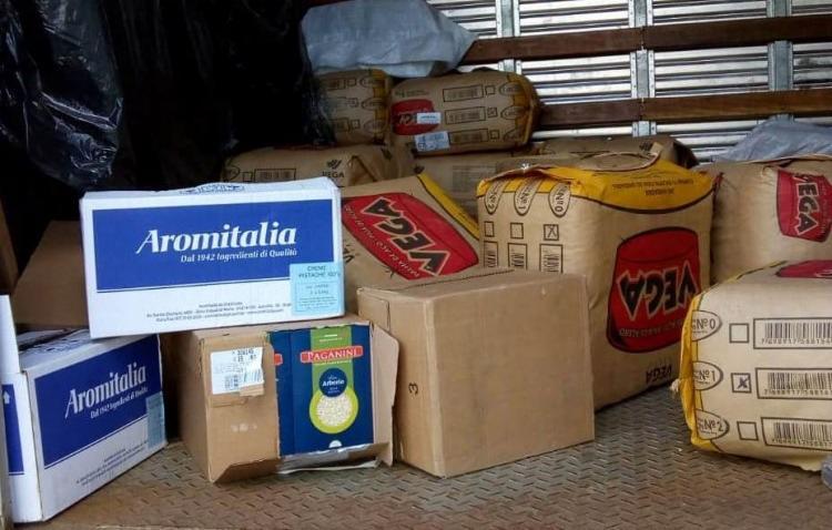 A polícia informou que o caminhoneiro teria forjado assalto e repassado parte dos produtos para o comerciante - Foto: Divulgação | SSP-BA