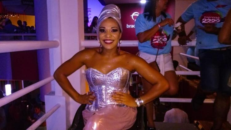 Josy quebrou barreiras ao ser eleita a Rainha do Muzenza 2019 - Foto: Allan Ribeiro | Ag. A TARDE