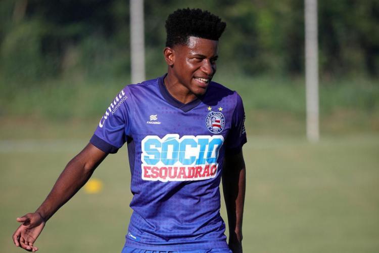 Ramires é uma das apostas do Tricolor neste sábado, 2, contra o Altos - Foto: Felipe Oliveira l EC Bahia