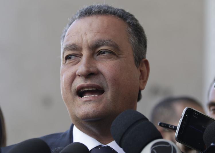 O governador foi ouvido por videoconferência na sede da Justiça Federal na Bahia, no bairro de Sussuarana, em Salvador - Foto: Tiago Caldas l Ag. A TARDE L 17.12.2018