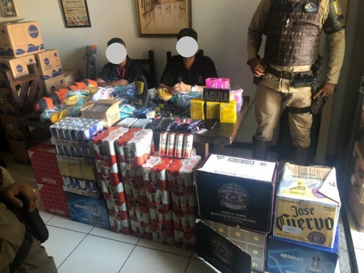 Material foi retirado anteriormente das dependências do camarote e estava escondido em uma casa - Foto: Divulgação | SSP-BA
