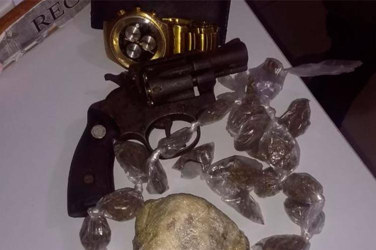 Material foi encontrado com uma das vítimas - Foto: Divulgação | SSP-BA
