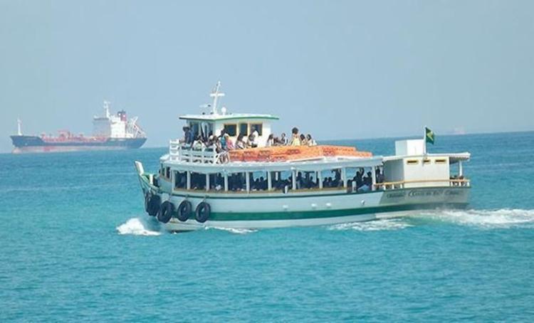 Seis embarcações operam com saídas a cada 30 minutos - Foto: Reprodução