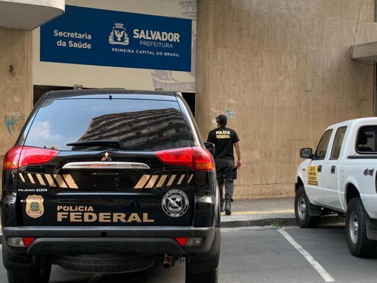 De acordo com a PF, a ação conta com 50 agentes federais e 16 auditores da CGU - Foto: Polícia Federal | Divulgação