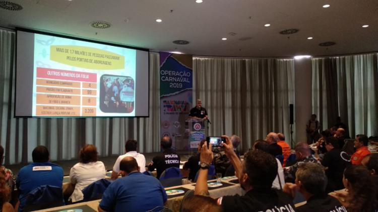 Dados foram divulgados durante coletiva de imprensa - Foto: Divulgação | SSP