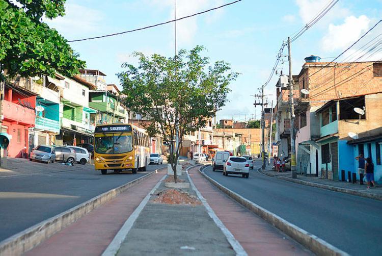 Modificações na avenida Afrânio Peixoto começam nesta quarta, 13 - Foto: Shirley Stolze | Ag. A TARDE