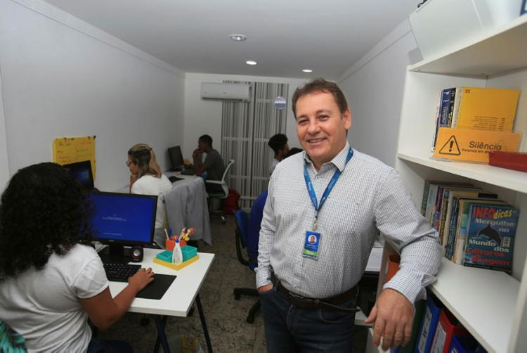 Sérgio Lisboa acredita que a Inteligência Artificial tende a ocupar mais espaços no futuro - Foto: Joá Souza | Ag. A TARDE
