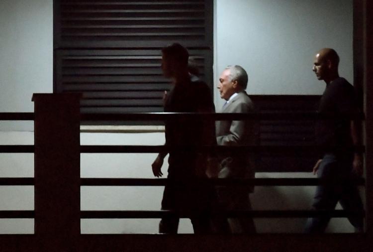 Procuradores afirmam que grupo criminoso, que seria liderado por Temer, atua há mais de 40 anos - Foto: Mauro Pimentel l AFP