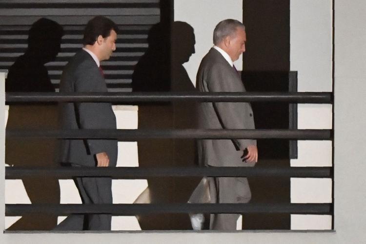 O ex-presidente foi beneficiado por um habeas corpus do TRF2 - Foto: Mauro Pimentel l AFP