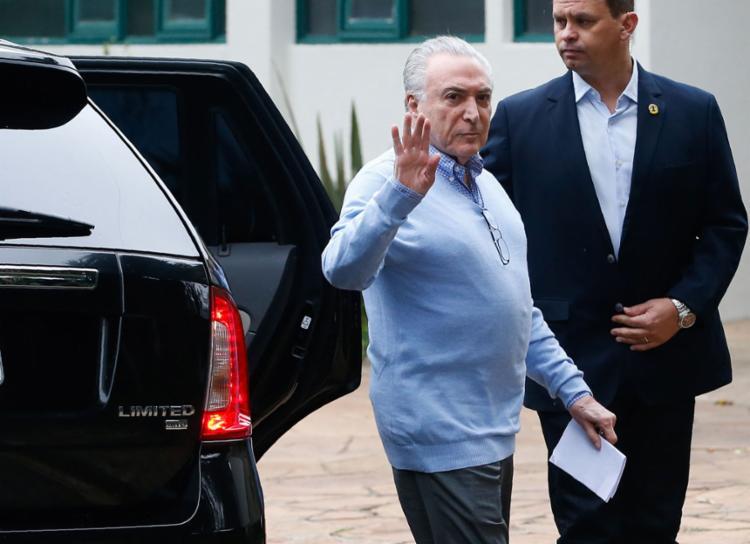 O ex-presidente também é acusado por corrupção por causa da mala de R$ 500 mil - Foto: Alexandre Schneider l AFP