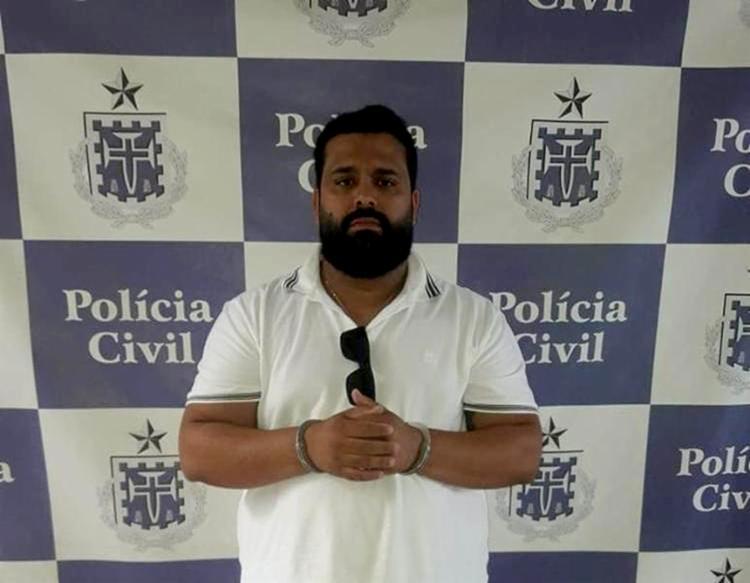 Thiago Calais Magalhães, de 32 anos, responderá por receptação - Foto: Divulgação l Polícia Civil