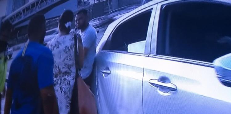 Agentes do órgão fazem o apoio no trânsito, que se encontra tranquilo - Foto: Reprodução   TV Record