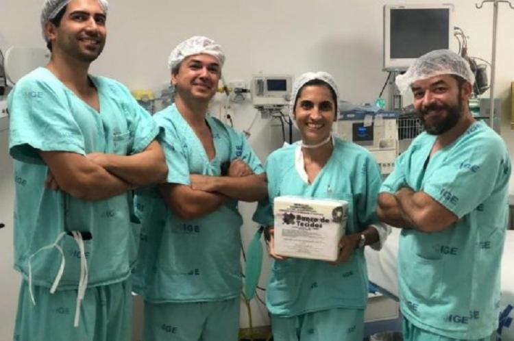 Adolescente de 16 anos foi beneficiada com o transplante - Foto: Divulgação   SESAB