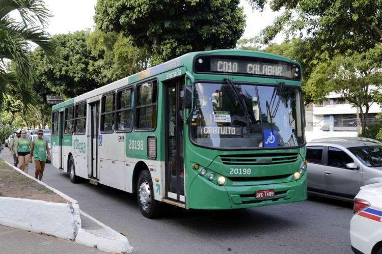 O total de passageiros que utilizou serviço da linha gratuita Lapa-Calabar deu um salto de 84.235 em 2018 para 141.889 este ano - Foto: Divulgação