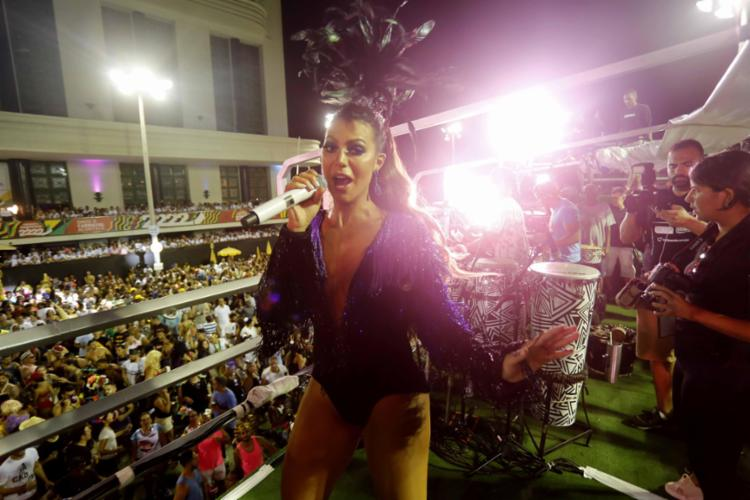 Vina Calmon comandou o Carnaval no circuito Dodô - Foto: Inacio Teixeira l Secom-PMS