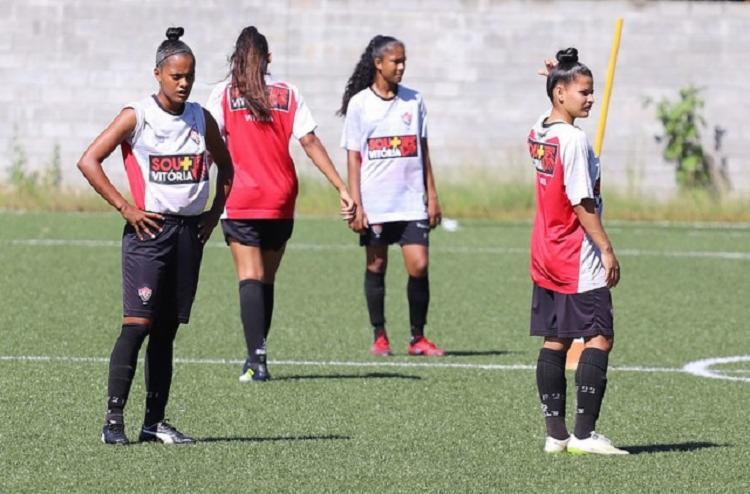 As Leoas iniciam a caminhada no campeonato neste sábado, 16, às 17h, no Barradão, contra o Audax-SP - Foto: Maurícia da Matta | EC Vitória