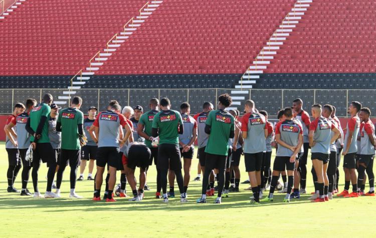 O Vitória vem de uma dura sequência de cinco partidas sem vencer - Foto: Maurícia da Matta l EC Vitória